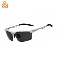 Hot Selling Men Fashion Design Polarized Sunglasses,High End Brand Elegant Gafas De Sol,Metal Alloy Frame Sports Spectacles G327