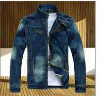Free shipping 2014 men's clothing men's jean jacket men denim jackets for men summer jacket
