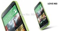 100% Original LOVE MEI Hippocampal Buckle Aluminum Metal Bumper Case Frame for HTC One M8