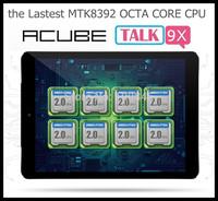Acube Cube Talk9X Talk 9x 3G Tablet PC Phone Octa Core 9.7 inch Retina OGS Screen 2048 x 1536 GPS Bluetooth 2GB Ram 16GB/32GB