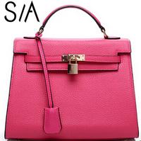 Hot selling Celebrity Women Leather Handbags women's Tote Shoulder Bag famous brand women messenger bags Casual women Handbag
