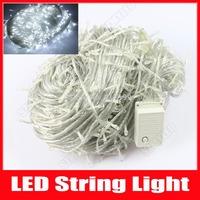 400 LED 50m LED String Light Christmas Light Fairy Lights Holiday Home Party Wedding Luminaria Decoration Lamps AC 110v/220v