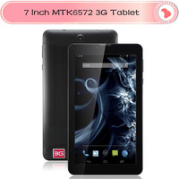 7 Inch 3G Phone Call Tablet PC MTK6572 Dual Core Android 4.2 512MB/4G Dual Cameras GPS OTG