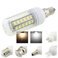 Led Lamps E14 Base 48 SMD 5730 220V ,9W 660 Lumen Led Light ,White/Warm White Corn Bulb