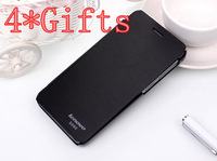 4* Gifts NEW Classical original Lenovo S660 flip cover with LOGO protective leather cases for lenovo S660 free shipping