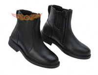 2014 New men Waterproof Genuine leather breathable Racing Boots for harley Motorcycle