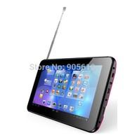 7 inch R70HT dual core ATV Tablet PC RK3028 HDMI Bluetooth DDR3 512MB/4GB HDMI 800*480 Built-in TV ISDB -t dual cameras G-senser