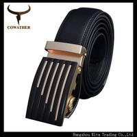 Fashion designer men accessories cow genuine leather belts for men,strap male business for belt metal automatic buckle,cintos