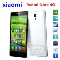 Original Xiaomi Red Rice Note 5.5 Inch HD IPS Screen MTK6592M octa core 1.4/1.7Ghz Hongmi Redmi 3200mAh 13MP OTG WCDMA/GSM