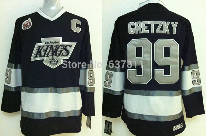 3ef51edf3 Find this patch white jersey mens reebok los angeles kings nhl jersey 99 wayne  gretzky premier grey 2014 ...