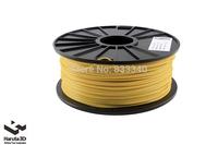Luminous Yellow 3d printer filament PLA ABS 1.75mm 3mm 1kg/spool Plastic Pure Material for MakerBot/RepRap/UP/Mendel