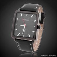 Quartz Watches Brand CURREN M8117 Luxury Watch Men Vintage Rectangle Wristwatches Analog Montre Homme Fashion watch New