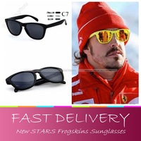 Free shipping, New stars Frogskins glasses for men/women sports eyewear sungalsses with box, Summer Coating Fashion Sunglasses