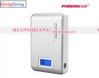 Original Pineng Power Bank 10000mAh PN-928 Portable Universal USB Powerbank For 4G FDD LTE Smartphones With Retail Box/Silver