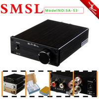 SMSL SA-S3 TA2021B Big Power Class-T AMP Tripath Stereo Amplifier +Power Adapter