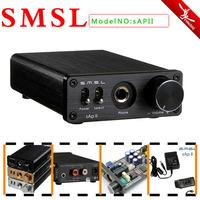 Free Shipping SMSL sApII 2 CH Big Power High Fidelity Stereo Headphone Amplifier