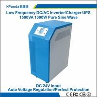 CE RoHS  24v  1000w solar inverter, hybrid inverter 1000w, grid tie charger 15A, peak 2000w 2KW AVR UPS