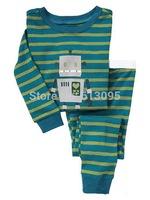 robot,Wholesale Baby Boys Girls Children pajamas,Pure Cotton long sleeve T-shirt+pant,casual homewear 6pcs/lot