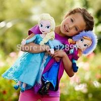 50CM Frozen Plush Dolls Frozen Elsa Anna Plush Doll Toys, Princess Doll Frozen Toys Brinquedos Kids Christmas gifts