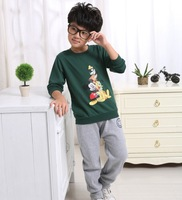 new Disne catoon printing t shirt unisex hoodies for boys and girls free shipping