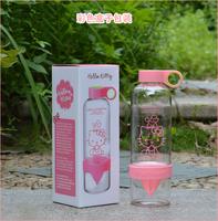 Hello Kitty Korean lemon cup manual juicer fruit bottles 830ml 31014