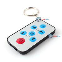 cointree Universal IR Mini TV Spy Remote Control Keychain 01 High Quality