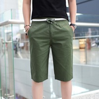 2014 new Korean version of Slim solid summer shorts loose casual shorts