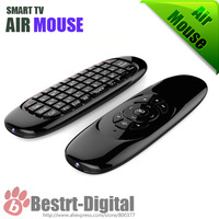 2.4G Wireless Fly Gaming Air Mouse C120 keyboard 3D Somatic handle Remote Control for Laptop Set-top-boxes Android TV