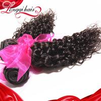 3 PCS Lot Cheap Hair Bundles Jerry Curl Malaysian Virgin Hair, Hair Products Malaysian Weaves Hair Wefts Free Shipping LQMJC004