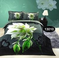 3d oil Animal / Plant painting bedding sets printed bedclothes king queen bed linens sheet sets,Duvet cover sets bed set#D20-1