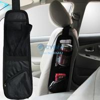 New Arrival Waterproof fabric Car Auto Vehicle Seat Side Back Storage Pocket Backseat Hanging Storage Bags Organizer B003 6207