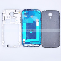 100% Original Full Set 3 in 1 Middle Frame Housing Assembly Plate Back Battery Case Cover for Samsung Galaxy S4 i9500 i9505