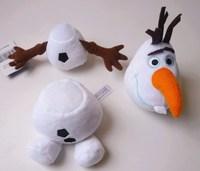 Free Shipping Snow Romance Cartoon snowman Olaf,Elsa Queen & Princess Anna's doll