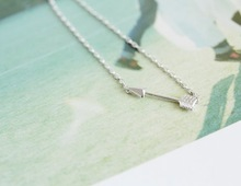 choker Simple Hunger Games Cupid Of direction Arrow Pendant Necklace