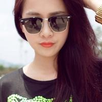 Fashion vintage 2014 sunglasses female male box metal sunglasses women's sun glasses
