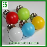 10pcs/lot,E27 LED Lamp Light 0.33W Bulb lighting 220v indoor lights white/red/blue/green/yellow color free shipping