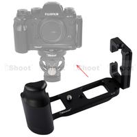 iShoot New Metal L-shaped Vertical Shoot Quick Release Plate/Camera Holder Bracket Grip for Fujifilm Fuji X-T1 Tripod Ball Head
