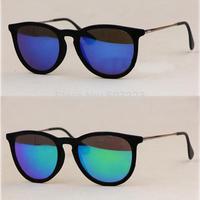 2014  HOT SALE  Women and Men Matel Sunglasses Unisex Sunglasses  polarized mirrored sunglasses   rb4171  Free Shipping