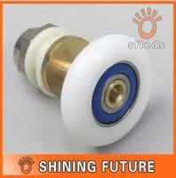 10pcs Shower Sliding Door Roller Runner Wheel 23mm 25mm Wheel Diameter can choose