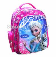 Free shipping Mochila Elsa Bag Kids Backpacks Children School Bags for Girls Party Favors Gift School Backpack