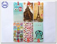 Cute Cartoon Animal Bird Sleeping Owl Soft Silicon TPU Huawei Ascend Y300 Case Huawei Y300 Cover U8833 / T8833