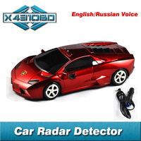 Auto Car Radar Detector with Laser Russian / English Voice ,Warning Vehicle Speed Control Led Display Detector De Radar