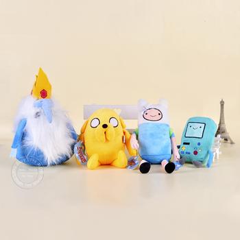 """4 штуки/партия. Детские мягкие плюшевые игрушки из мультсериала """"Время приключений с Финном и Джейком"""". Кукла, королевский пингвин, игрушки для маленьких мальчиков и девочек."""