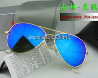 YJ0204 Classic sunglasses glance mercury sunglasses glasses lady and men