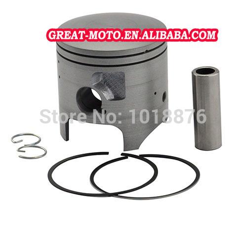 High performance oversize +25 +50 66.25mm 66.5mm bore Chromium aluminium motorcycle piston kit piston&ring for KAWASAKI KDX200(China (Mainland))