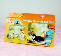 2014 New fashion Window Mount Cat Bed Pet Hammock Best Value cat hammock Sunm SEAT Window Mounted Cat Bed