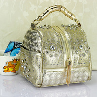 2014 NEW designer PU leather handbag,brand woman bags,desigual bag,women messenger bag,vintage shoulder bag dropship