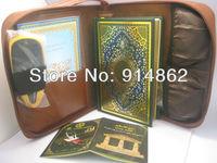 Digital muslim holy Quran touch reading pen  reader 2.4inch LCD with Sahih Muslim Riyad us Saliheen word by word 5pcs/lots