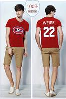 Free Shipping Montreal Canadiens 22 Dale Weise Jersey Sportewear Shirt Mens Ice Hockey Jerseys 22 Weise Jerseys