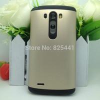 SLIM ARMOR Case Cover for LG G3 Hard Back Slim Armour Tough Armor Case Cover for LG G3 1pcs/lot